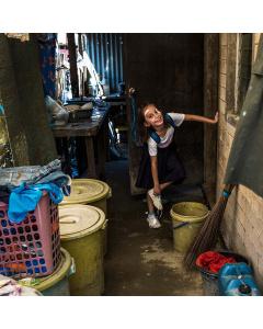 På bilden: Aianah Glenneth, Filippinerna. Foto: Jesper Klemedsson